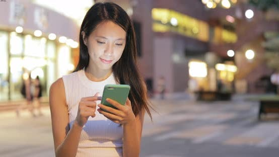 Thumbnail for Woman Use of Smartphone