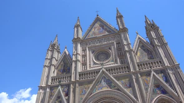 Thumbnail for Duomo of Orvieto cathedral church in Tuscany, Italy, Europe.