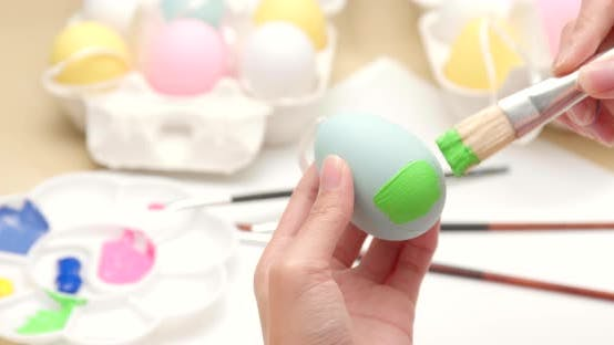 Thumbnail for Decorates Easter egg