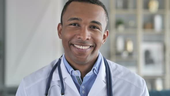 Thumbnail for Portrait of Smiling African-American Doctor