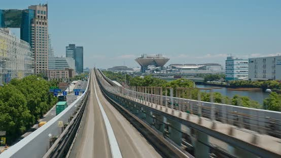 Thumbnail for Transit System in Odaiba of Japan