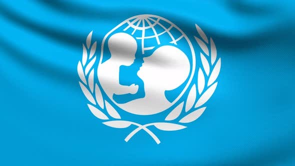 Thumbnail for UNICEF Flag 4K