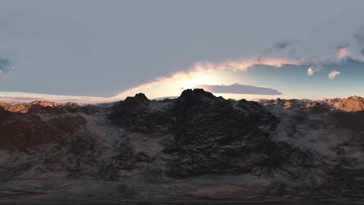 Thumbnail for Aerial Vr 360 Panorama der Berge