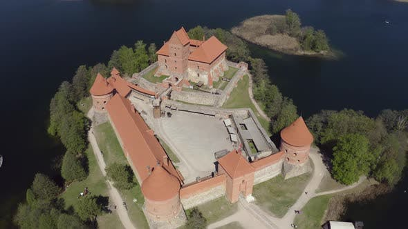 Thumbnail for Trakai Castle Most Visited Tourist Attraction In Lithuania