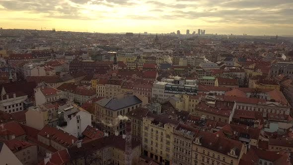 Thumbnail for Czech Republic Prague Aerial Flying