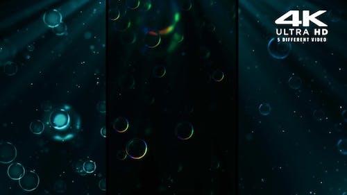 Particles Bubble