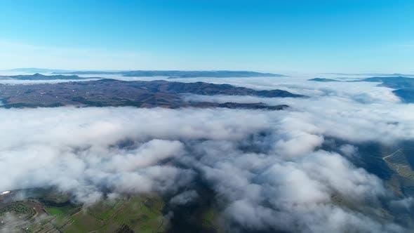 Mountains Above Mist