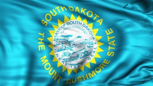 South Dakota State Flag