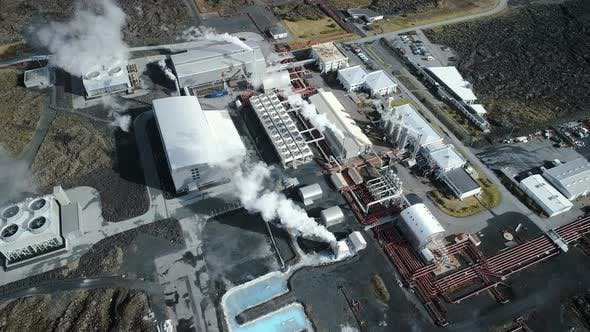 Thumbnail for Industrial Factory Or Geothermal Power Plant