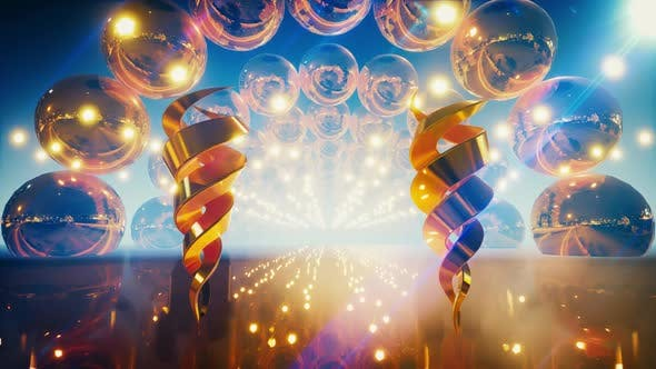 Thumbnail for Golden Stage Decoration