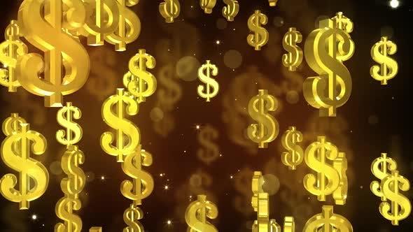 Thumbnail for Falling Dollar Symbols