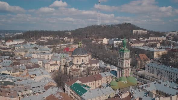 Thumbnail for Aerial City Lviv Ukraine
