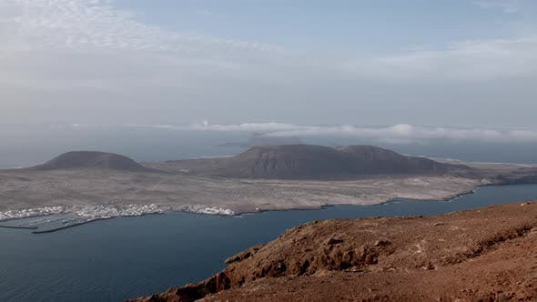 Thumbnail for View of La Graciosa in the Canary Islands