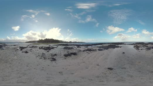 Thumbnail for 360 VR Mauritius Küste mit Black Rocks