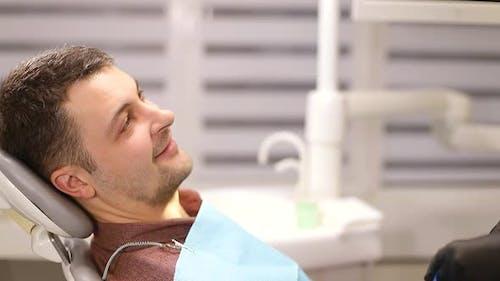 A person who treats teeth examined by a dentist, healthy teeth