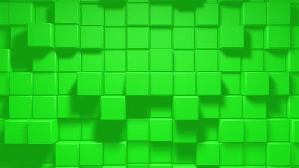 Thumbnail for Abstract Geometric Cube Blocks Loop