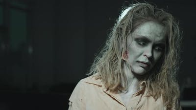 Zombie Woman Portrait