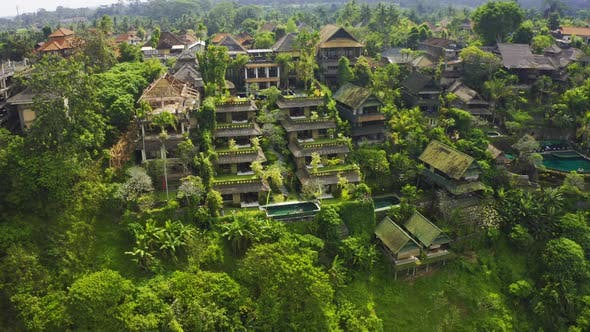 Thumbnail for Luxury Villas House with Panoramic View at Jungle, Tropical Rain Forest and Mountains, Greenery