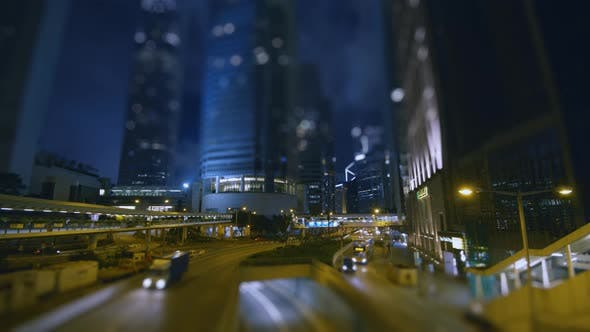 Thumbnail for Traffic in City Night