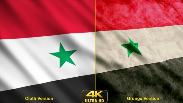 Cover Image for Syria Flags