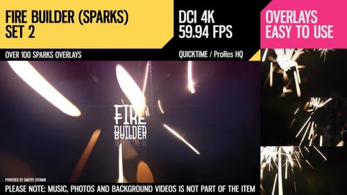 Fire Builder (Sparks 4K Set 2)