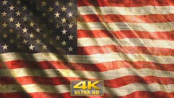 United States Of America-USA Flag Grunge