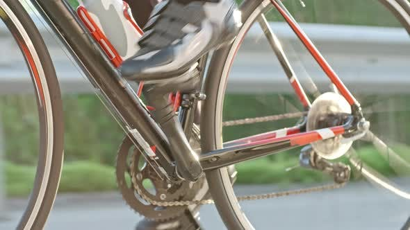 Thumbnail for Unrecognizable Woman Pedaling Bicycle
