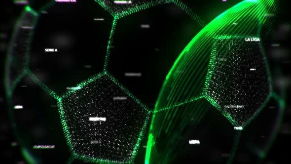 Thumbnail for Digital Soccer Ball Seamless Loop