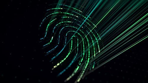 Fingerprint with a compliance check