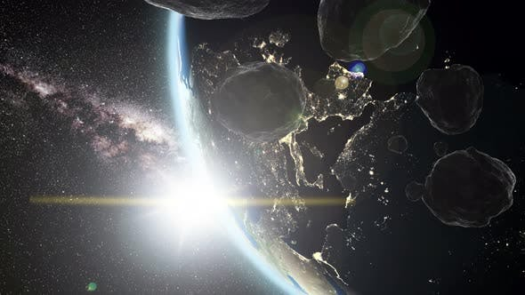 Cover Image for Earth and Asteroids