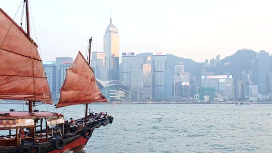 Cover Image for Victoria Harbour in Hong Kong