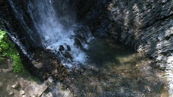 Thumbnail for Carpathian Waterfall