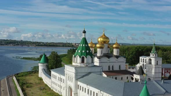 Thumbnail for Aerial View of Ipatievsky Monastery in Kostroma