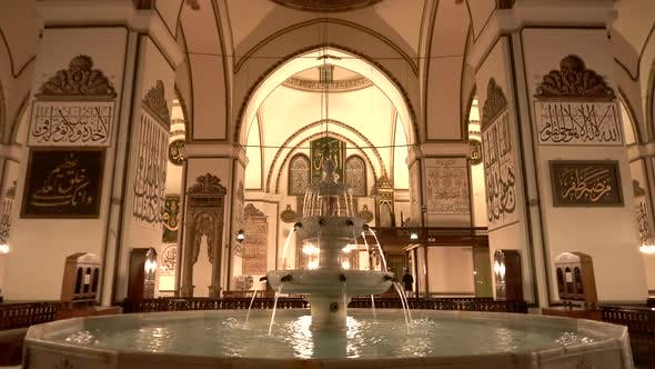 Fountain Interior World's Most Beautiful Giant Mosque