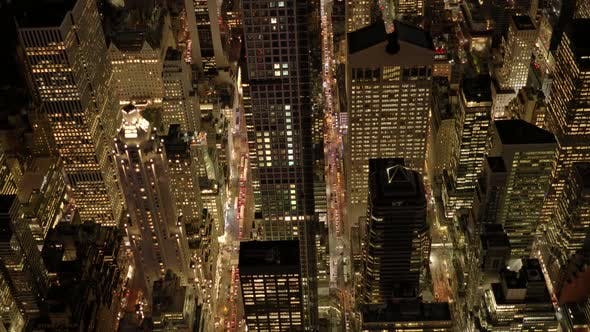 Thumbnail for Establishing Shot Manhattan New York City Skyline Business District