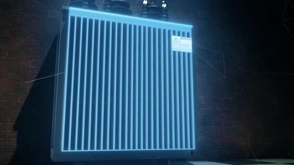 The Electrical Power Transformer 4k