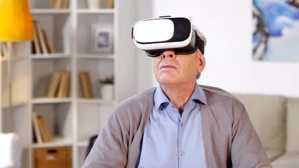Thumbnail for Old Man Using Virtual Reality Headset