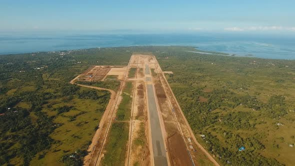 Thumbnail for Construction Airport Terminal. Philippines Panglao