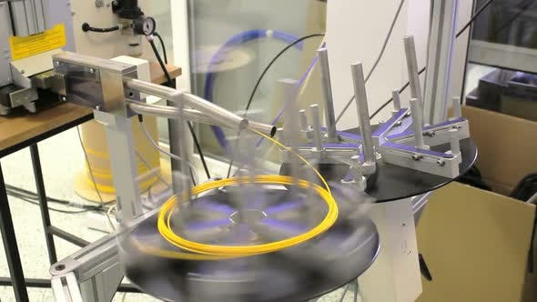 Thumbnail for Automatic fiber optic cable cutting machine
