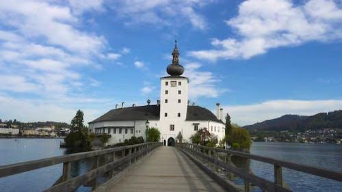 View Of Schloss Ort Castle