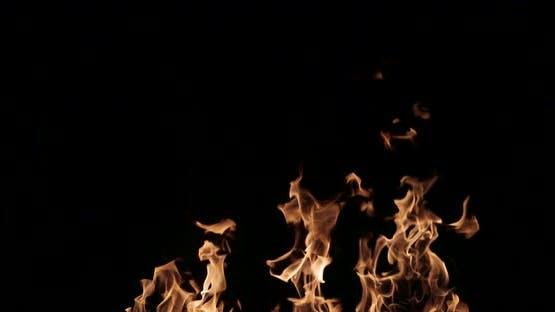 Fire Flames Slow Motion