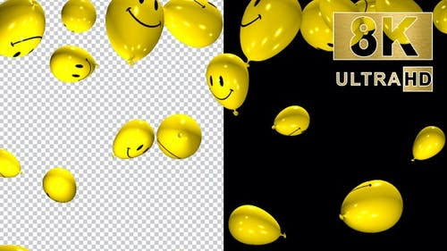 Soaring Balloons 8K