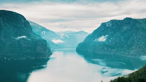 Sogn And Fjordane Fjord Norway