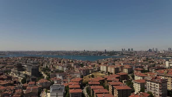 Thumbnail for Aerial View Cityscape Istanbul