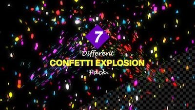 Confetti Explosion & Falling Pack