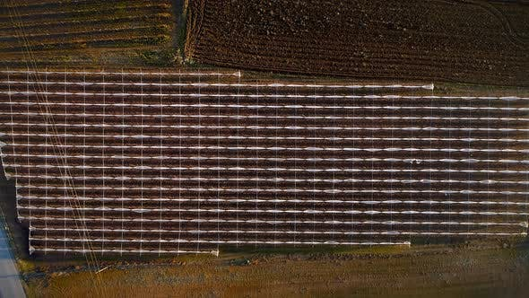 Thumbnail for Aerial view of a country agricultural landscape.
