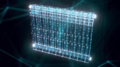 Radiator Hologram Close Up Hd