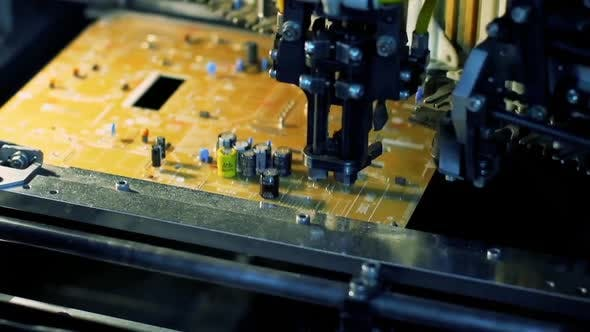 Cover Image for Printed Circuit Board Production Process.