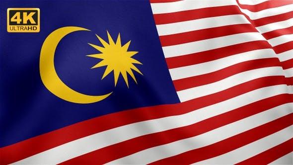 Thumbnail for Flag of Malaysia - 4K
