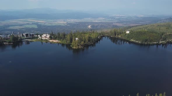 Thumbnail for Flight Over Strbske Pleso, Slovakia